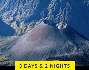 Mt Rinjani 3 days and 2 nights trek