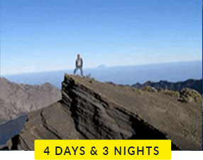 Mt Rinjani 4 days and 3 nights trek
