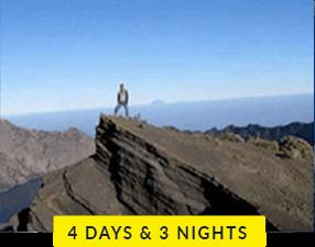 Mt Rinjani 4 days and 3 nights trek